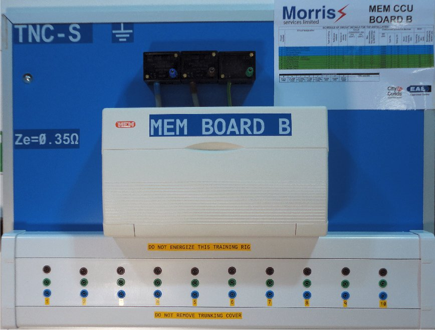 R1 + R2 practice electrical training at morris services limited